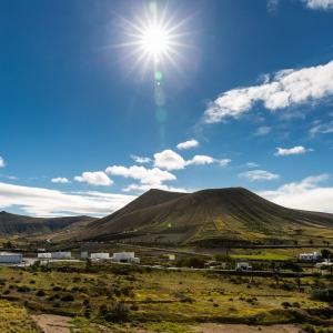 12 touristische Aufnahmen aus Lanzarote