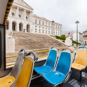 24 touristische Aufnahmen aus Lissabon