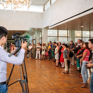 Lions Club International Art Festival 2013, Photo exhbition, National Museum of Fine Arts, Bishkek, Kyrgyzstan